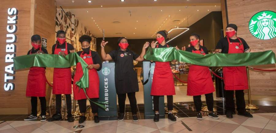 Cape Town's second of six Starbucks stores opens in Cavendish Square