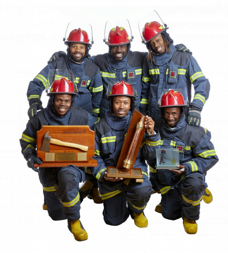 Adcock Ingram Critical Care firefighting team follows first aid team to win top spot in SA competitions