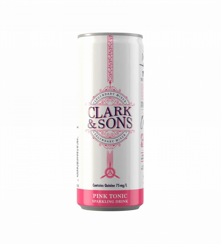 Clark & Son Pink Tonic Scoops Double Gold