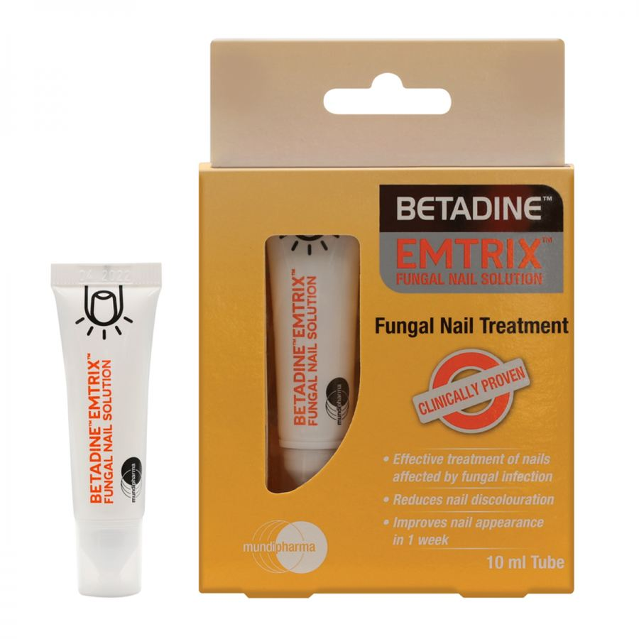 Mundipharma launches new BETADINE™ EMTRIX™ Fungal Nail Solution in South Africa
