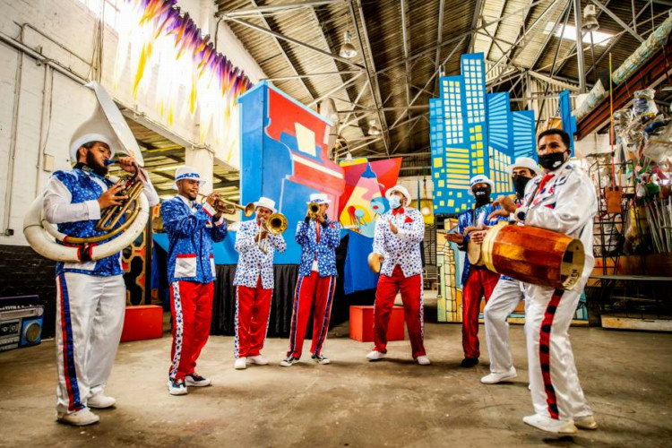 Carnival celebrates SA's famous, fabulous '50s-era music and dance as inspiration for today