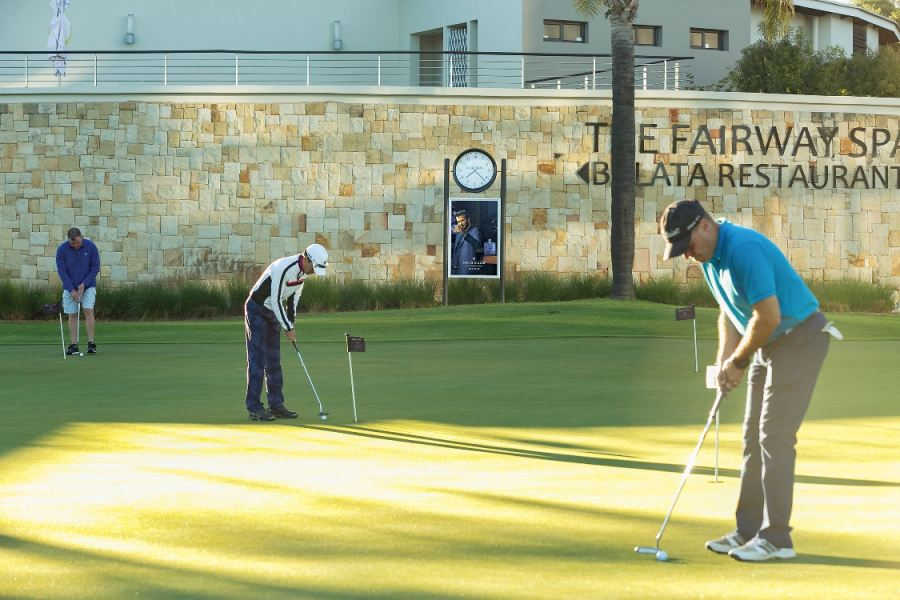 GOLF ADS ENSURED NO HOLIDAY 'DOWN TIME' FOR BRANDS