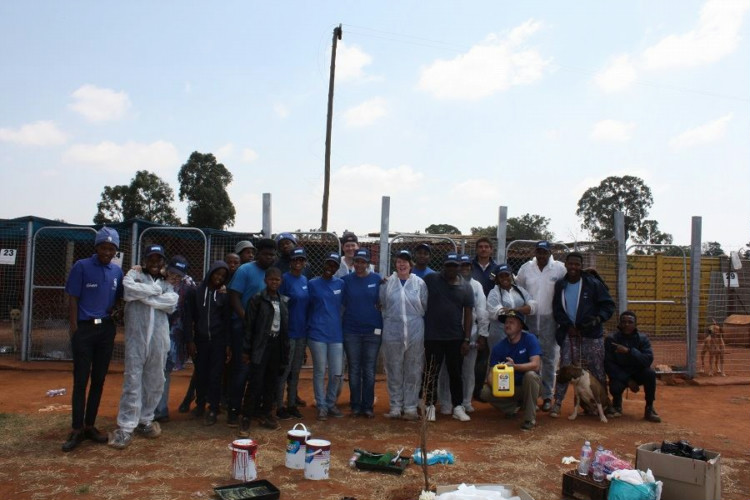 Elanco whoofs up a Global Day of Service for Soweto's homeless hounds