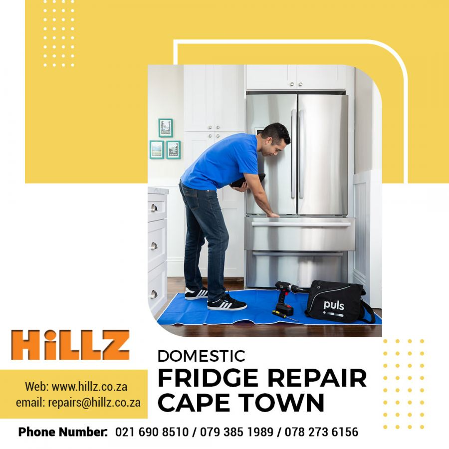 Experts Recommends Domestic Fridge Repair Cape Town should be done through professionals