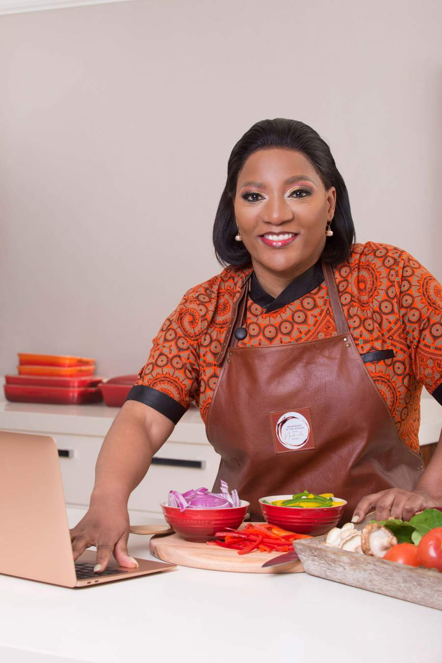Nomfundo Mcoyi launches Boardroom to Kitchen Cookbook