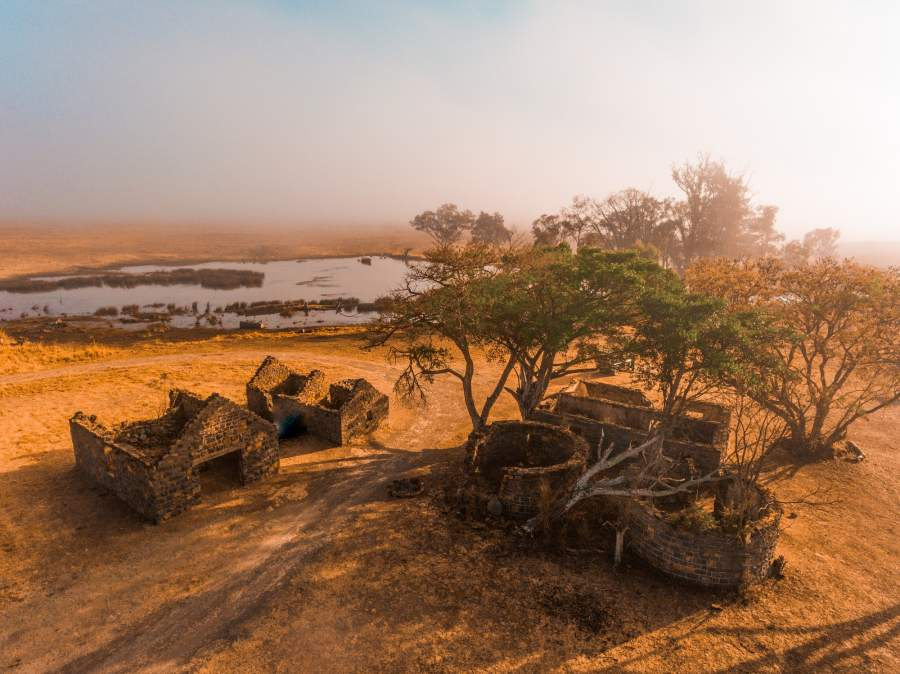 New Luxury Lodge Under Construction in the Nambiti Game Reserve