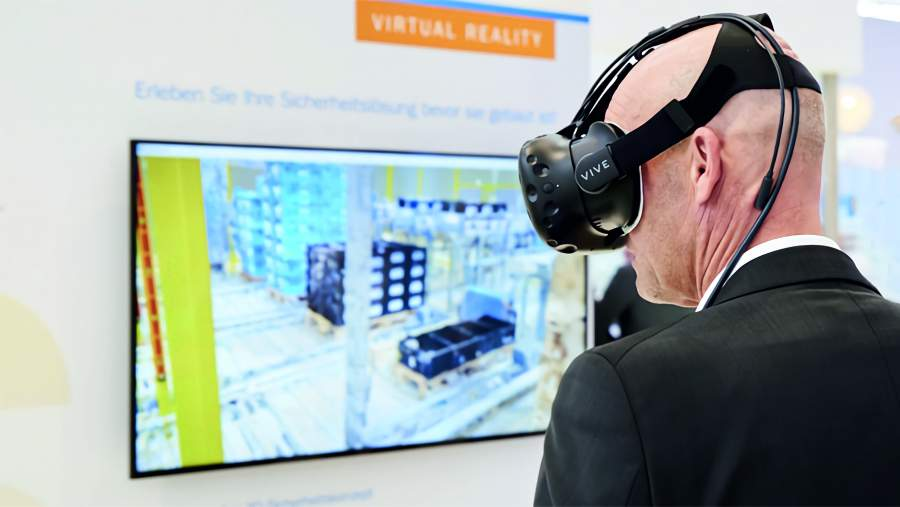 A virtual experience of customers' safety equipment allows for a deeper understanding of newly-implemented or planned safety measurements