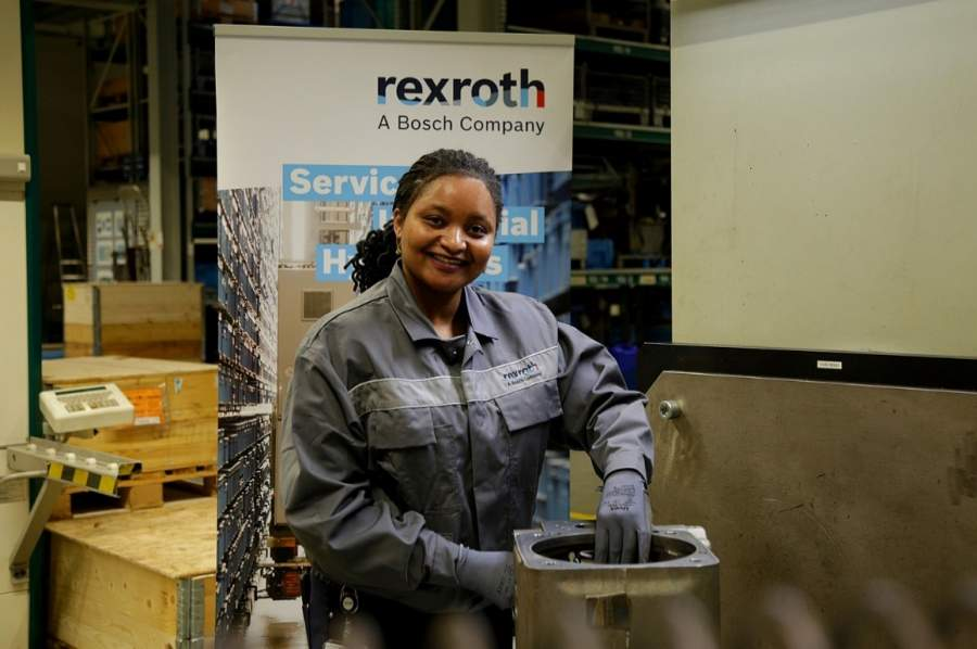 Melvis Wachira, recently appointed Sales Manager, Bosch Rexroth     Kenya