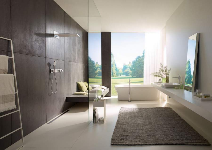 Looking for some bathroom inspiration? hansgrohe has got you covered