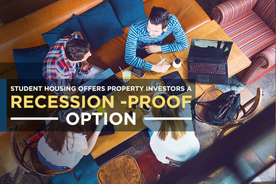 Student housing offers property investors a recession-proof option