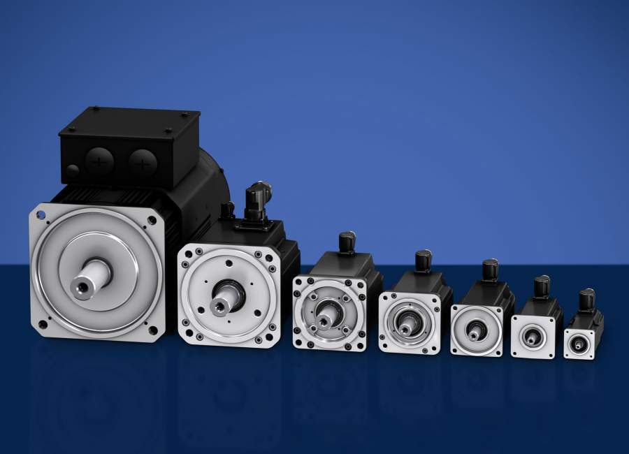 Twice as strong but still compact: New synchronous servo motor with  smaller frame size MS2N13