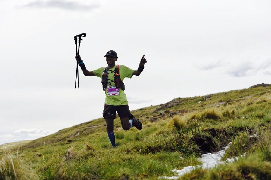 Lucky Miya 2017 Winner of the K-Way SkyRun