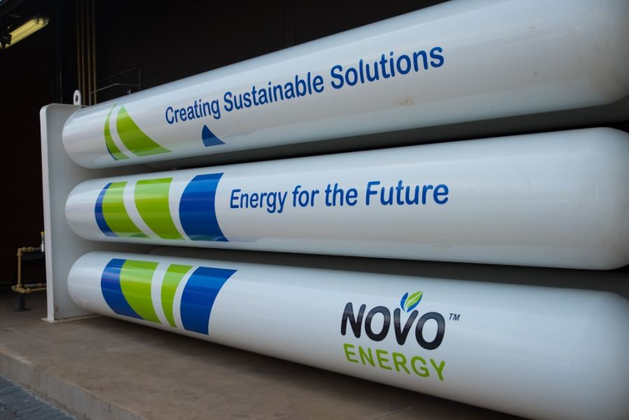 NOVO Energy launches State of the Art Natural Gas Compression Station