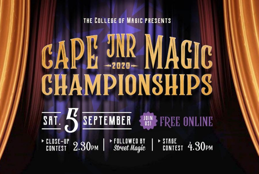 Share in the wonder of the 2020 Western Cape Junior Magician Championships, hosted by Stuart Taylor, for free!