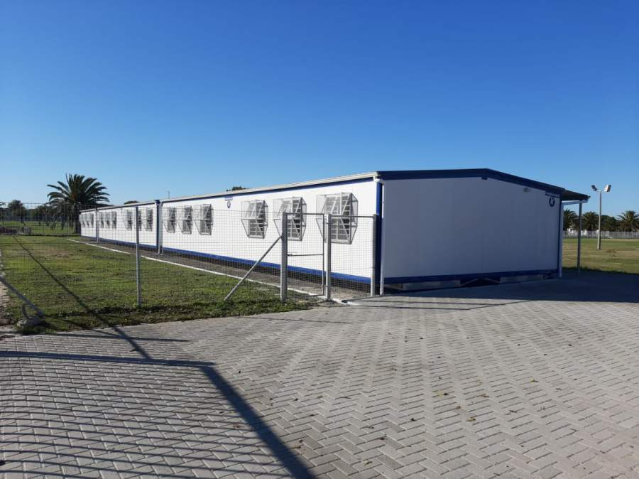 Goodwood Park Primary received five Kwikspace classrooms.
