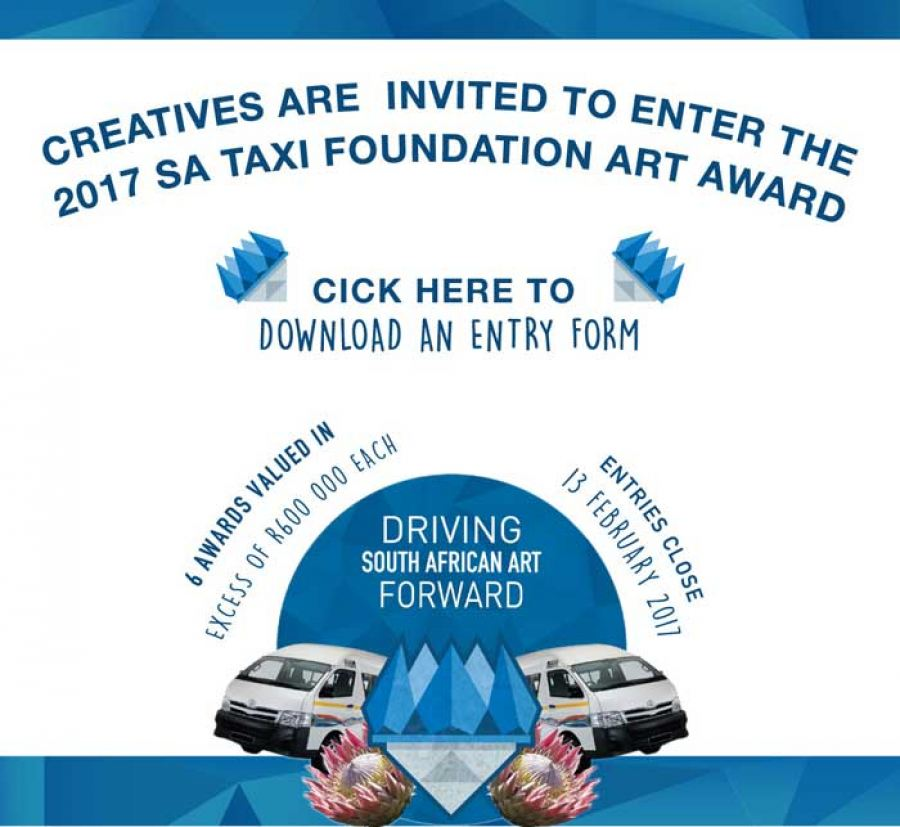 SA Taxi Foundation Art Award finalist says 2017 entrants flex their creative muscles