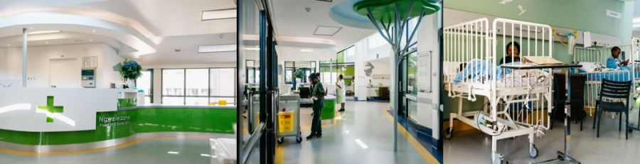 The new-look Ngwelezane Hospital after the renovation has been completed