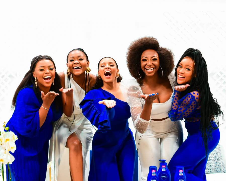 The NIVEA Skinfluencer Masterclass was held on 2 September.  Guests included (from L-R) Kay Yarms, Mpume Ngwenya (NIVEA Marketing Manager), Kefilwe Mabote, Khutso Theledi and Thandolwethu Tsekiso who shared advice for up and coming influencers.