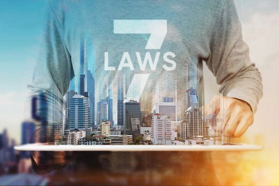 The seven laws of property investment
