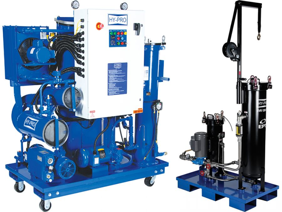 HFT offers fluid conditioning equipment for hire