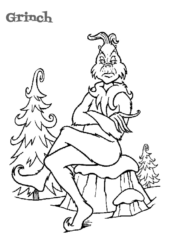 15 Grinch Coloring Pages For Christmas Print Color Craft Print