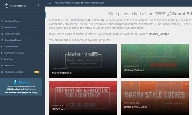 Five sites with free pictures, videos, footage and sound effects