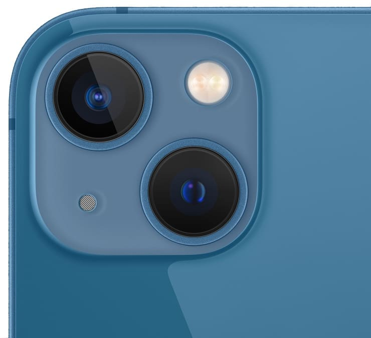 Cameras in iPhone 13 and iPhone 13 mini