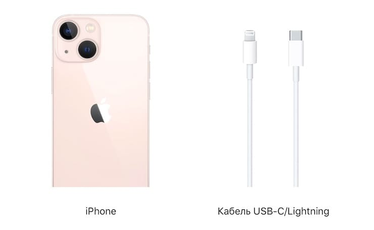 Package of iPhone 13 and iPhone 13 mini