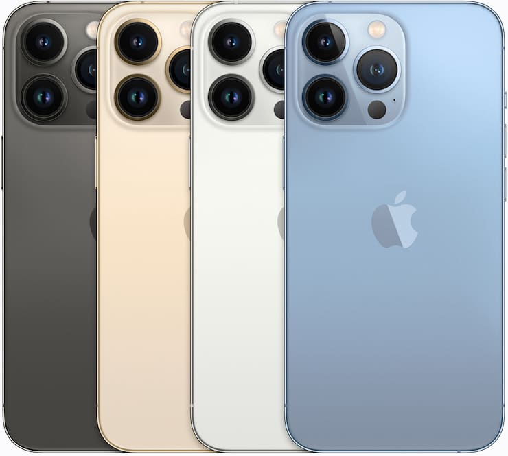 Colors iPhone 13 Pro and iPhone 13 Pro Max