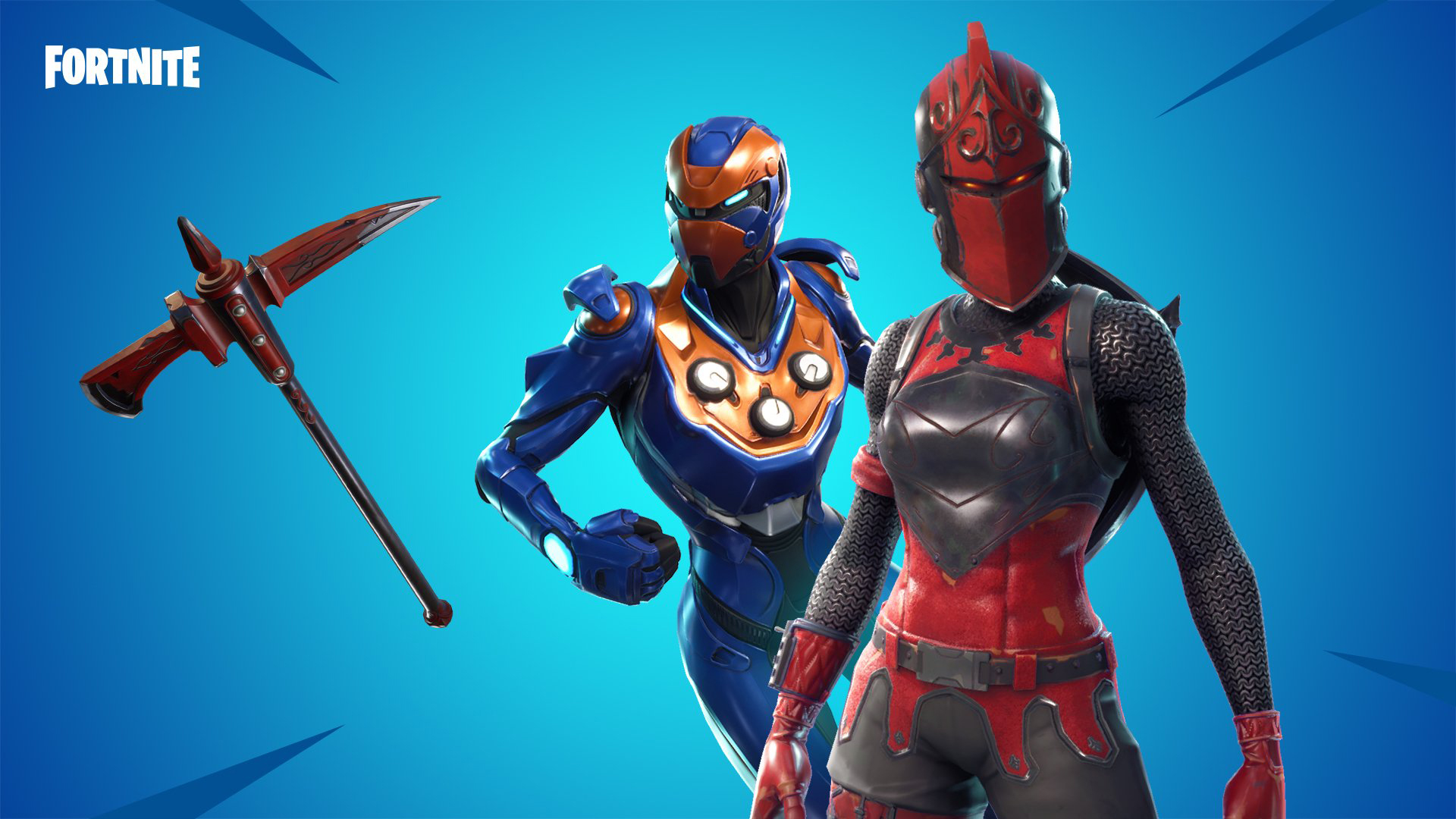 Unmasked Red Knight Fortnite Wallpaper
