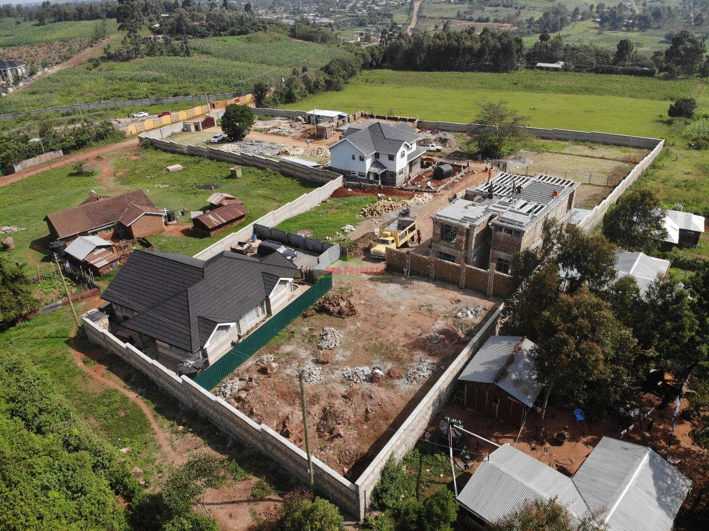 Controlled Plots For Sale In Kikuyu