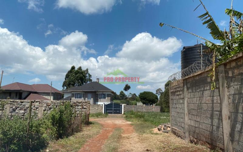 Residential Plot For Sale In Kikuyu, Gikambura.
