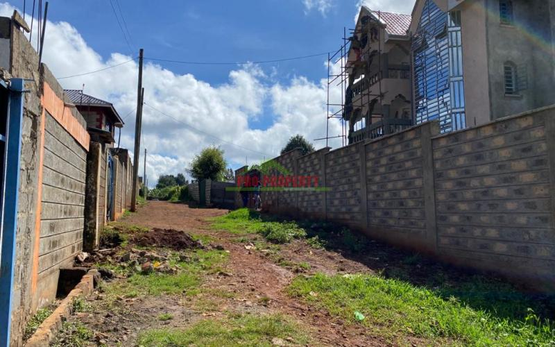 Plot For Sale In Kinoo, Kihumo Area.