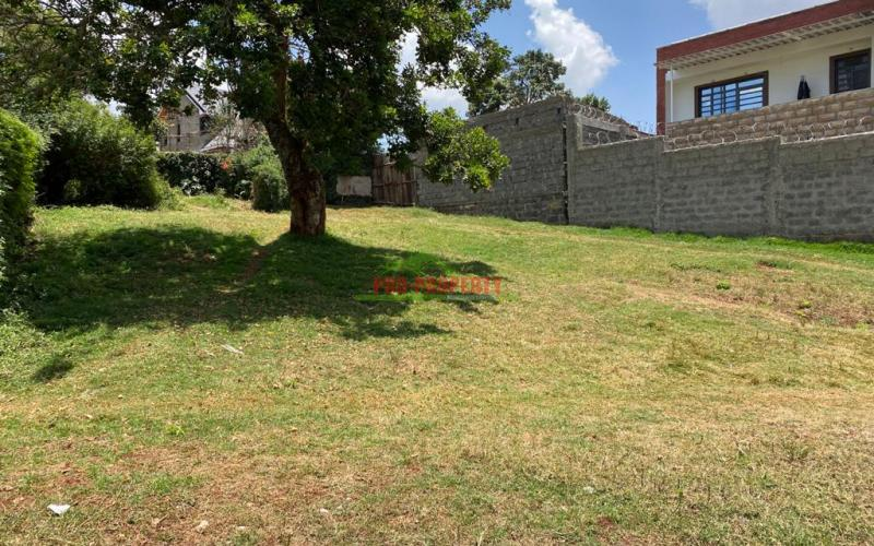 Residential Plot For Sale in Kikuyu near the Southern Bypass.