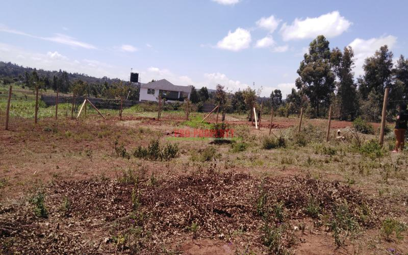 Prime Residential Plot For Sale In Kikuyu Lusigetti.