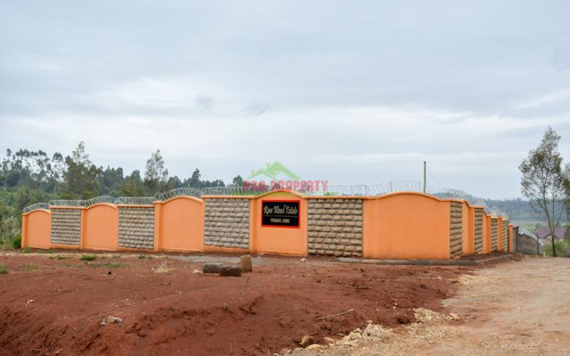 Gated Community For Sale In Kikuyu,ondiri - Rose Wood Estate