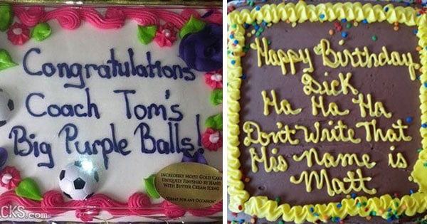 21 Hilarious Cake Messages That Are Winning As They Re Failing