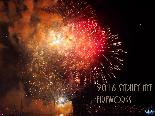 Mission Complete: 2016 Sydney New Year Eve Fireworks