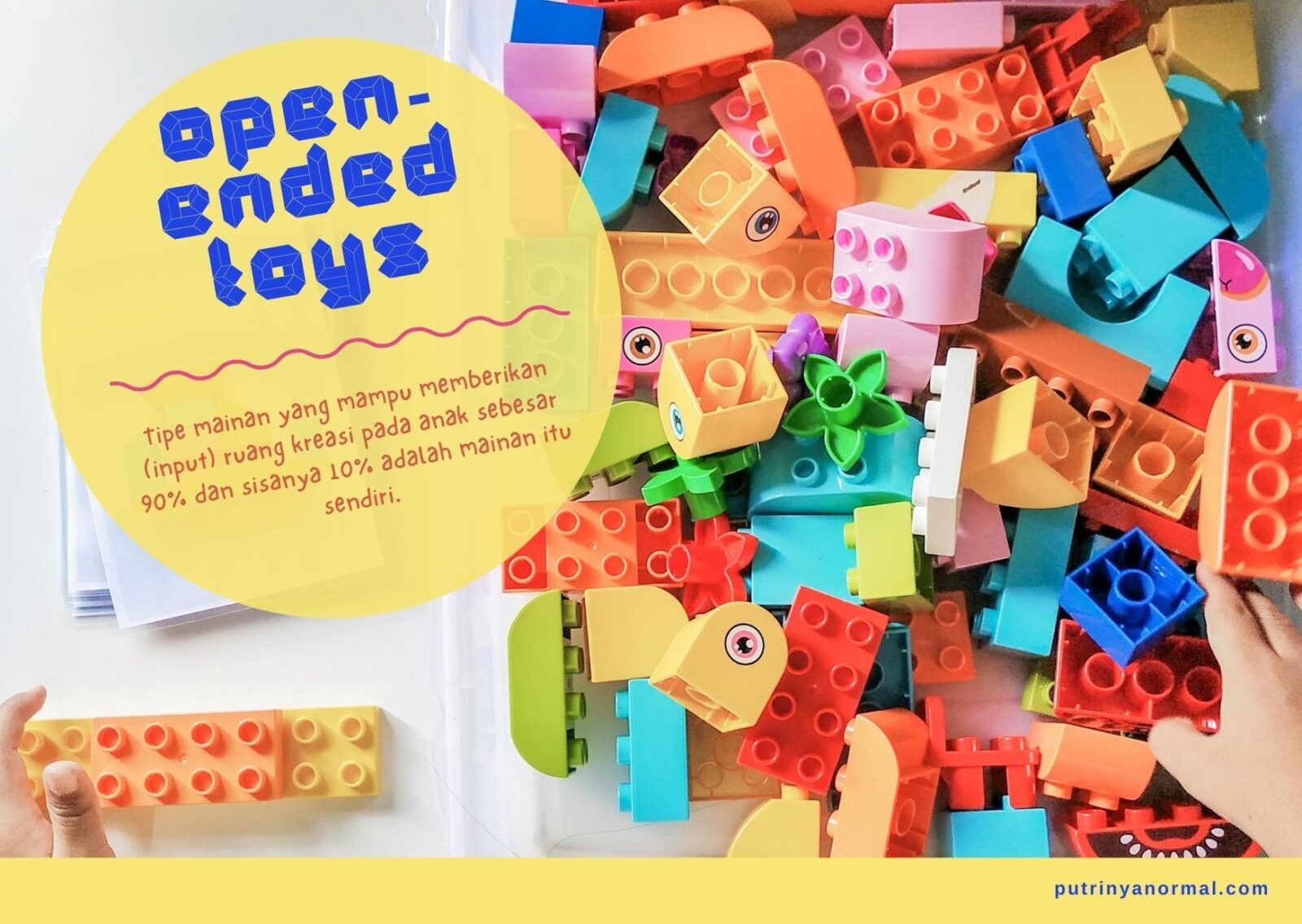 Open-ended toys recommendation