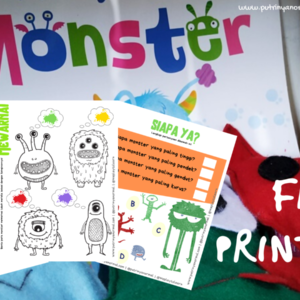 Free Printable Monster