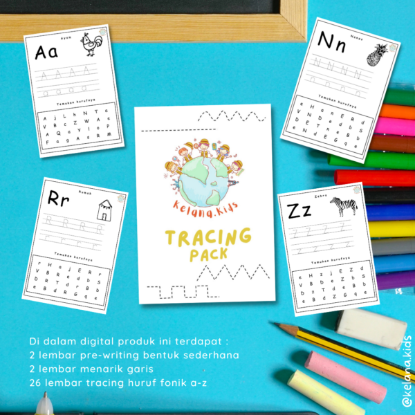 Tracing Pack Phonics A-Z