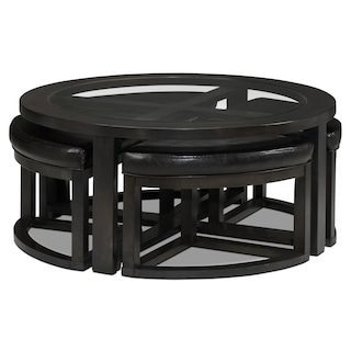 Leon 039 S Emma Coffee Table With 4 Ottomans Redflagdeals Com