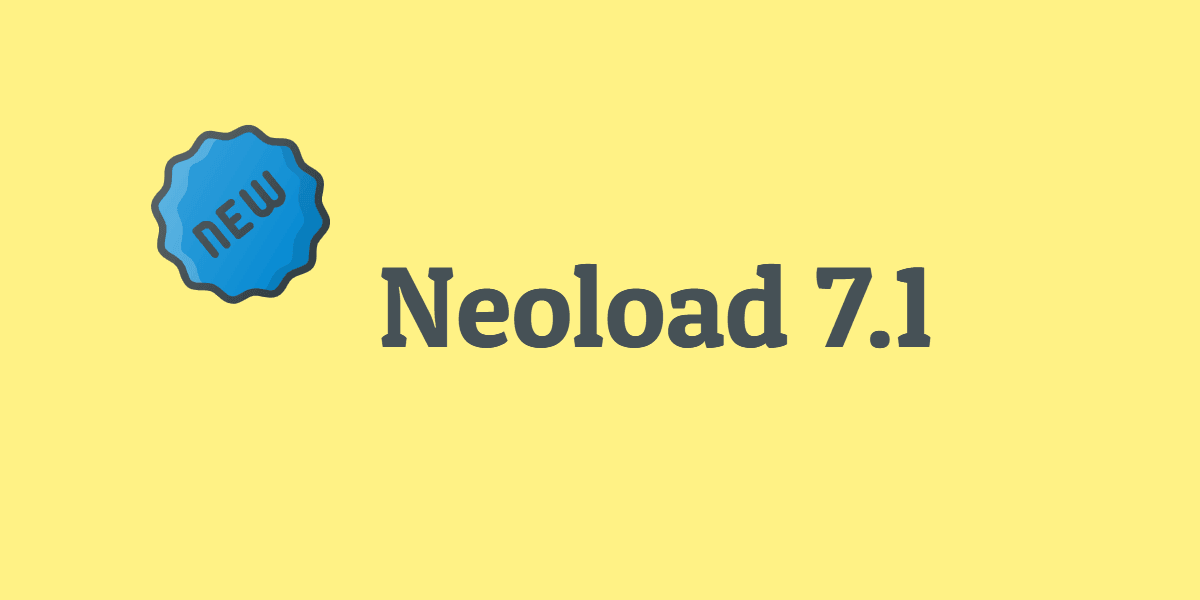What's new in Neoload 7.1