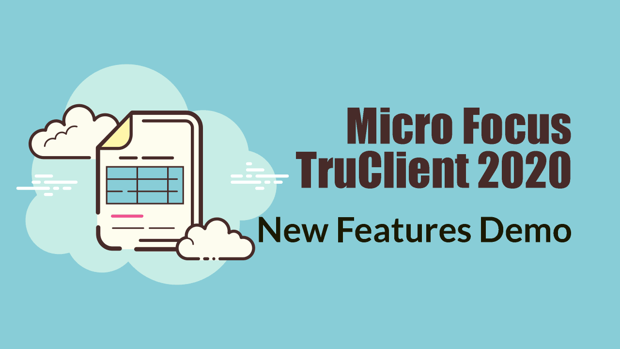 What's new in TruClient 2020?