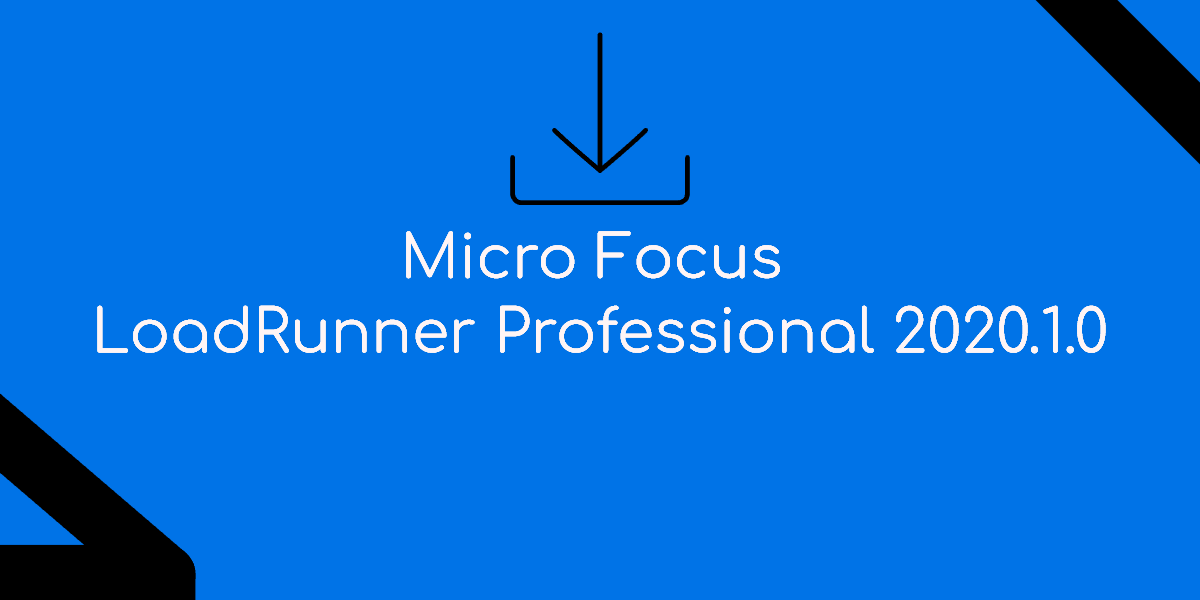 Micro Focus LoadRunner Professional 2020 Service Pack 1