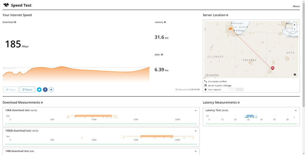 Deep-dive into Cloudflare's Speed Test