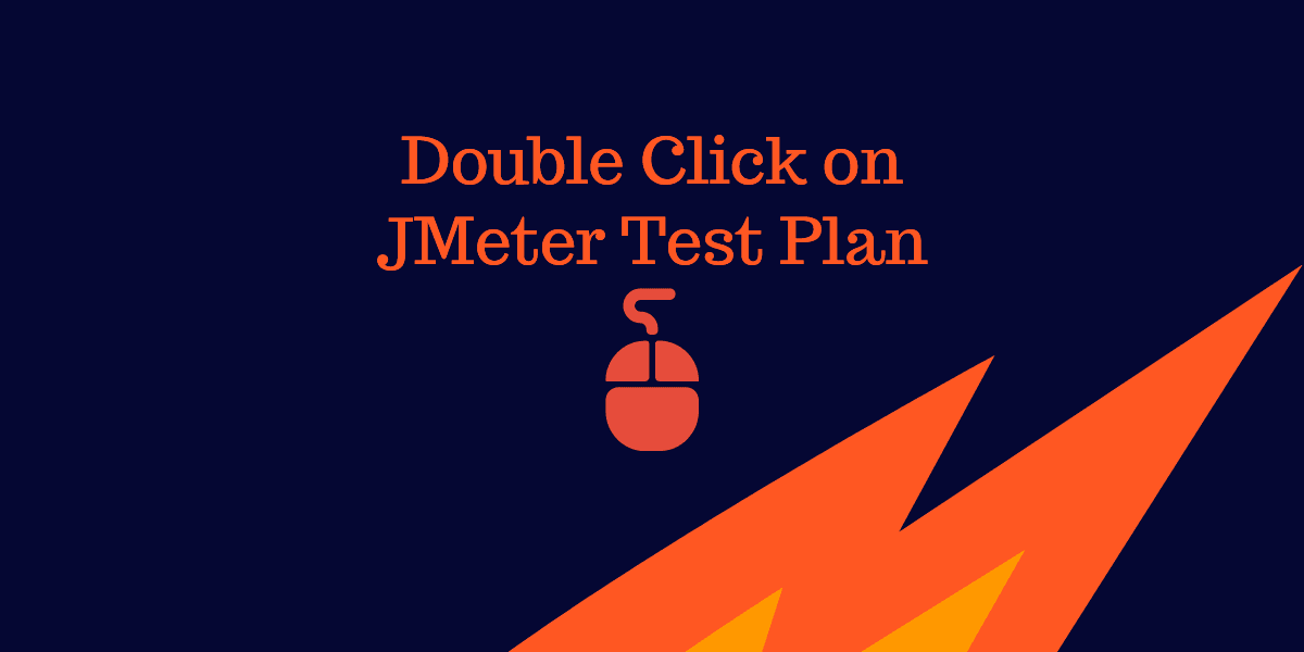 Open JMeter test plan by double clicking in Windows 10