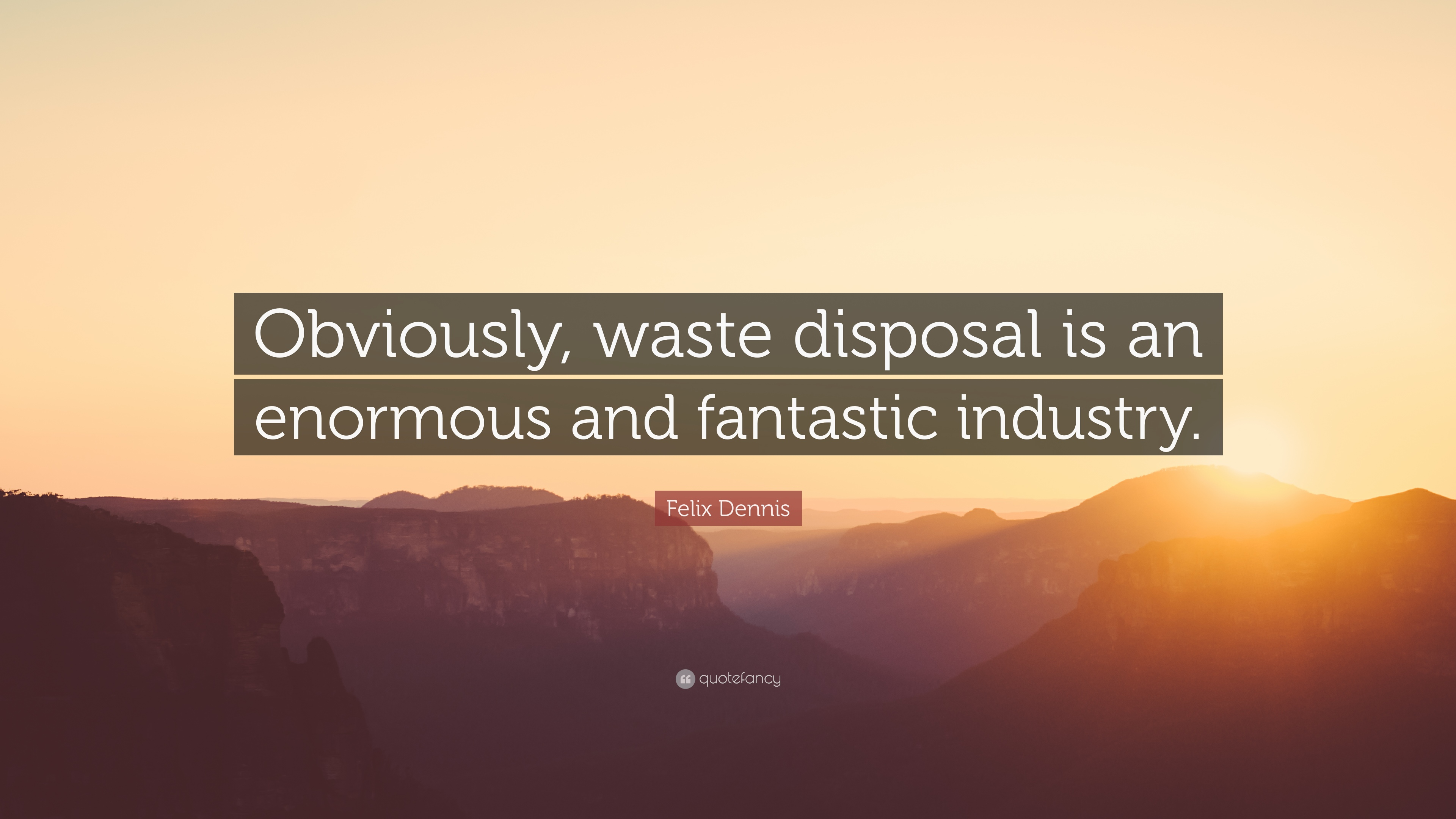 Waste Management Quotes 3