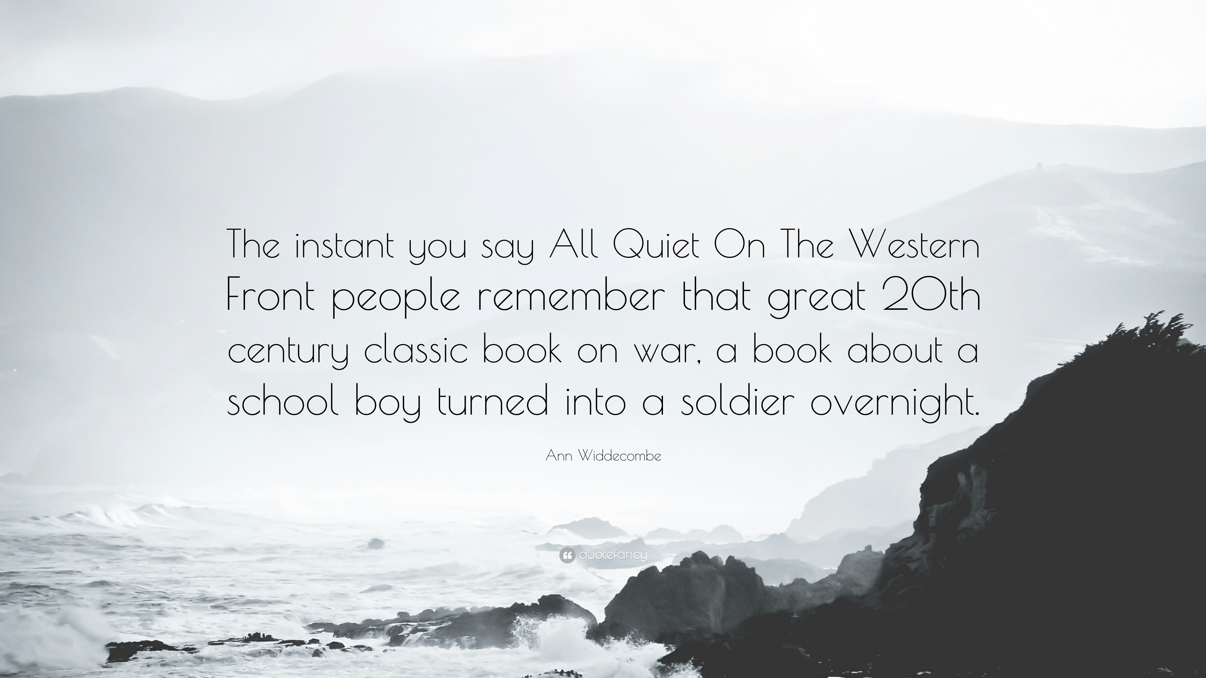 All Quiet On The Western Front Quotes 1