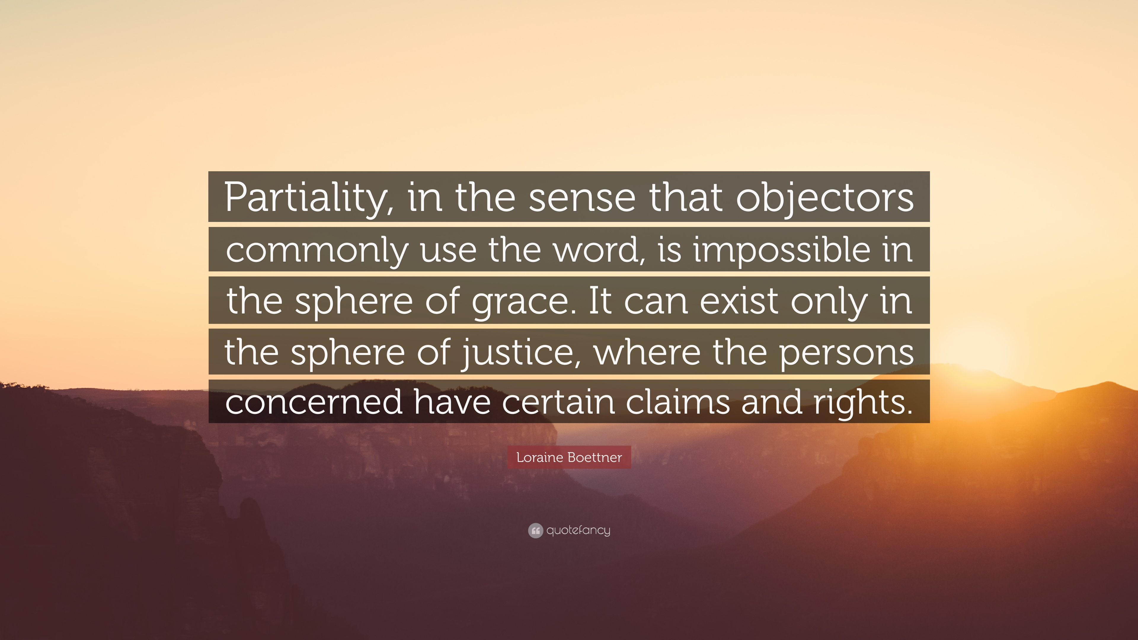 Partiality Quotes 3
